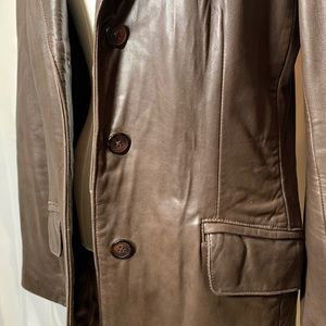Danier Jackets & Coats - Buttery soft genuine leather blazer